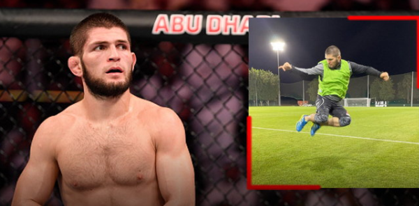 """""""Khabib"""" signs with the Russian 3rd Division football team"""